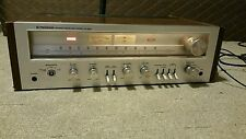 Vintage Pioneer SX-650 Silver Face AM FM Stereo Receiver Working