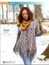 Berroco Knitting Pattern Book #352 Nomad - 6 designs for women