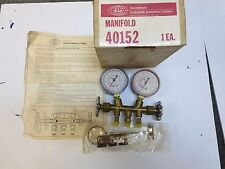 New, NOS Robinair Kent Moore  automotive AC service manifold gauge set two valve