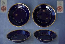 SEVRES : 2 Soucoupes Porcelaine Manufacture Nationale Sèvres 1923 et 1927