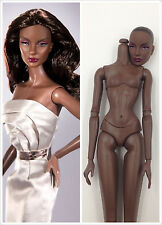 Fashion Royalty Integrity Doll Jordan Platinum head with Dark A Skin Body