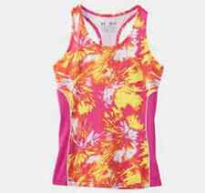 NWT Under Armour Girl's Youth XL Dazzle Tank Top Shirt 1236942 Fitted MSRP 35