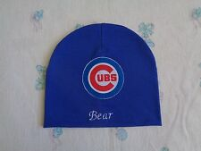 Chicago Cubs Personalized Baby Hat (0-2 year)