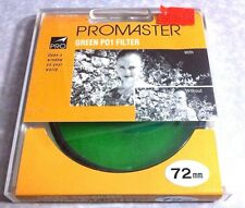 Pro 72mm Green P01 P0-1 Lens Filter B&W Color Film Digital 72 mm Japan Origianl