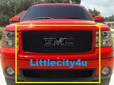 07 08 09 10 11 12 13 GMC Sierra 1500 New Body Black Billet Grille Combo Inserts