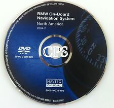 2003 2004 2005 2006 BMW X3 X5 Z4 & Mini Cooper Navigation High DVD Map US Canada