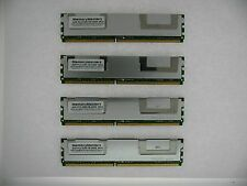 16GB Kit 4X 4GB MemoryMasters Hynix 5300F PC2-5300F FB-DIMM DDR2 667MHz