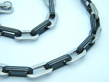NECKLACE STAINLESS STEEL GREEK STYLE LINK CHAIN jEWELLERY  NECKLACE 01