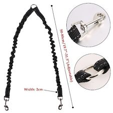 Hot Duplex Double Dog Coupler Twin Lead 2 Way Two Pet Dog Walking Leash Safety