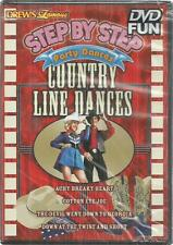 Drew's Famous step by step party dances country line dances dvd new 2008