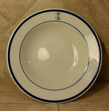 "WWII Era Tepco USA  China US Navy Salad Bowl 7"" Navy Mess Hall Officer Wardroom"