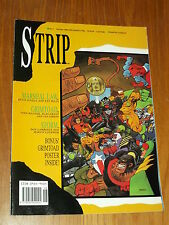 STRIP #7 BRITISH MAGAZINE 12 MAY 1990 MARSHAL LAW WITH POSTER^
