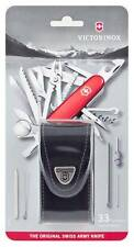 1.6795 VICTORINOX SWISS ARMY POCKET KNIFE SWISS CHAMP SWISSCHAMP WITH POUCH !!!