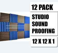 Studio Sound Proofing Acoustic Foam Wedge Panels Wall Tiles 12 1 2 x Vocal Booth