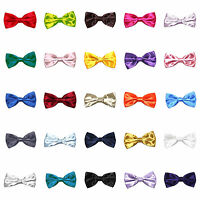 Kids / Boys Satin Bow Tie - Available in a Variety of Colours