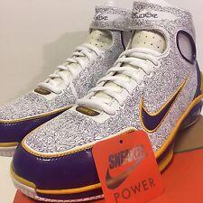 NEW Nike Air Zoom Huarache 2K4 KB Sz 11 PROMO SAMPLE Laser Home OG White Purple