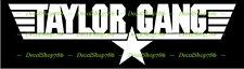 Taylor Gang - TGOD - TGOE - Vinyl Die-Cut Peel N' Stick Decals / Stickers