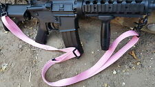 New Pink Color! 2-point quick release sling for M4, AR15, M16, rifles & airsoft