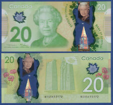 KANADA / CANADA 20 Dollars 2012 Polymer  UNC  P. 108