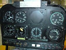 Old Photo.  Alouette III 319B Airplane Control Panel