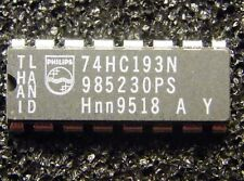 10x 74HC193N Presettable synchronous 4-bit binary up/down counter, Philips
