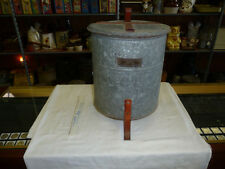 RARE ONLY ONE KNOWN JUSTRITE WASTE CAN FOR WALKER COUNTY ,AL. MINE