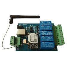 5 Relay WiFi & Ethernet Remote Control Board