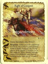 A Game of Thrones LCG - 1x Right of Conquest  #005 - Spoils of War