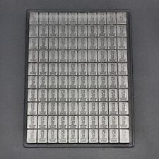 100 x 1 Gramm 999 Silber Feinsilber Silberbarren Cook Island Valcambi NEU