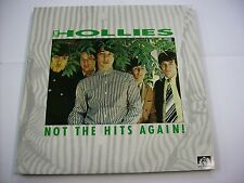 HOLLIES - NOT THE HITS AGAIN - LP VINYL SEE FOR MILES RECORDS 1986 EXCELLENT