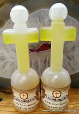 2 Anointing oil  FRANKINCENSE from Israel Holy Sepulchre Jerusalem 125ml,4.22oz