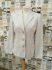 NEXT SIZE 10 BEIGE TAILORED FORMAL SUIT JACKET/BLAZER EXCELLENT CONDITION