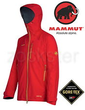 Mammut Matterhorn Whymper Jacket, GORE-TEX PRO, S size, Poppy Red, BRAND NEW !