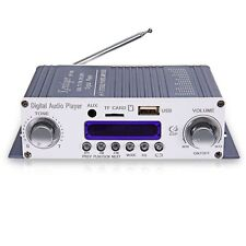 HY-603 HiFi Stereo Power Digital Amplifier with FM IR Control MP3 USB Playback