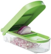 Green  Slicer Chopper Cutter Home Dicer Kitchen Prepware Tool Container free new