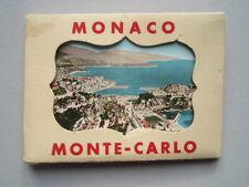 POCHETTE DE 15 ANCIENNES PHOTOS MONACO MONTE-CARLO en couleurs