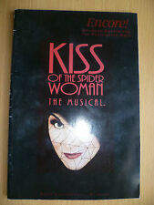 1995 ENCORE Theatre Programme: KISS OF THE SPIDER WOMAN by HAROLD PRINCE