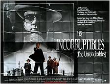 LES INCORRUPTIBLES THE UNTOUCHABLES Affiche Cinéma GEANTE / WIDE Movie Poster
