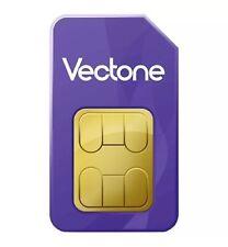 VECTONE MOBILE FRANCE CARTE SIM PRÉPAYÉE Réseau SFR GSM