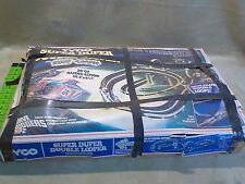 Tyco Super Duper Double Looper Race Nite Glow Slot Car Track HO Vintage 1979