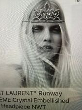 SAINT LAURENT RUNWAY TIARA NEW IN BOX  SOLD OUT EVERYWHERE!!!!