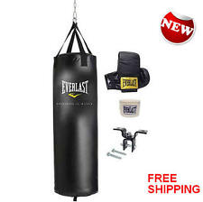 70-Pound MMA Wraps boxing Heavy punching training NEW Gloves Bag Kit Everlast