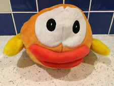 FLAPPY BIRDS  LARGE SOFT PLUSH 20CM TALL RARE ORANGE TEDDY