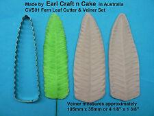 Fern Leaf Cutter & Veiner Cake Decorating Sugar Flower Gum Paste Tools