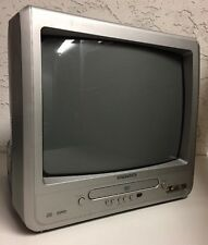 "Magnavox MWC13D6 13"" TV DVD Combo Player Color Television"