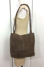 Bally Large Brown Snake Embossed Leather Tote Shopper Bag