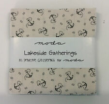 """Lakeside Gatherings by Primitive Gatherings -Moda Charm Pack - 42 x 5"""" squares"""