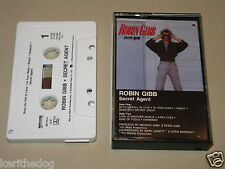 ROBIN GIBB - Secret Agent - MC Cassette official tape 1984
