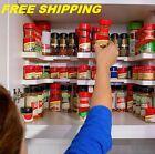 Kitchen Shelf Spice Rack Stackable Organizer Storage Cabinet Cupboard Jar Wall