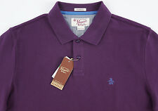Men's PENGUIN Plum Purple Polo Shirt Large L NWT NEW Classic Fit Nice!
